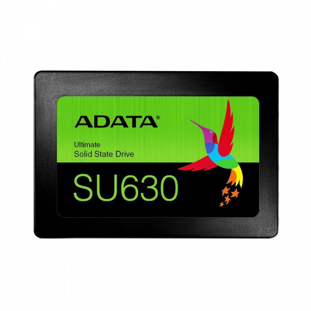 Adata SSD Ultimate SU630 240GB SATA 6Gb/s R/W Up to 520/450MB/s, black SSD disks