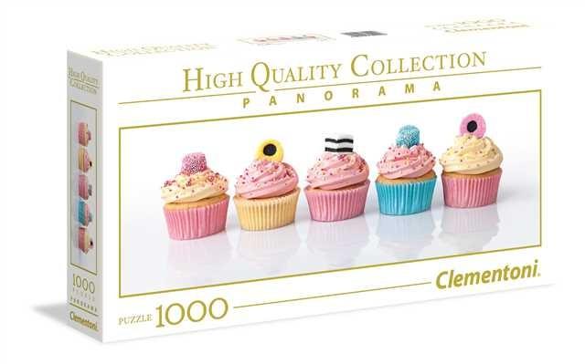 Clementoni Puzzle 1000el Panorama HQC Licorice Cupcakes puzle, puzzle
