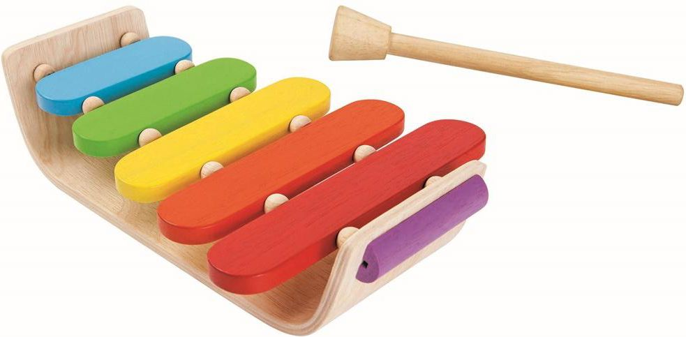 Plan Toys Drewniany ksylofon - 212312 212312
