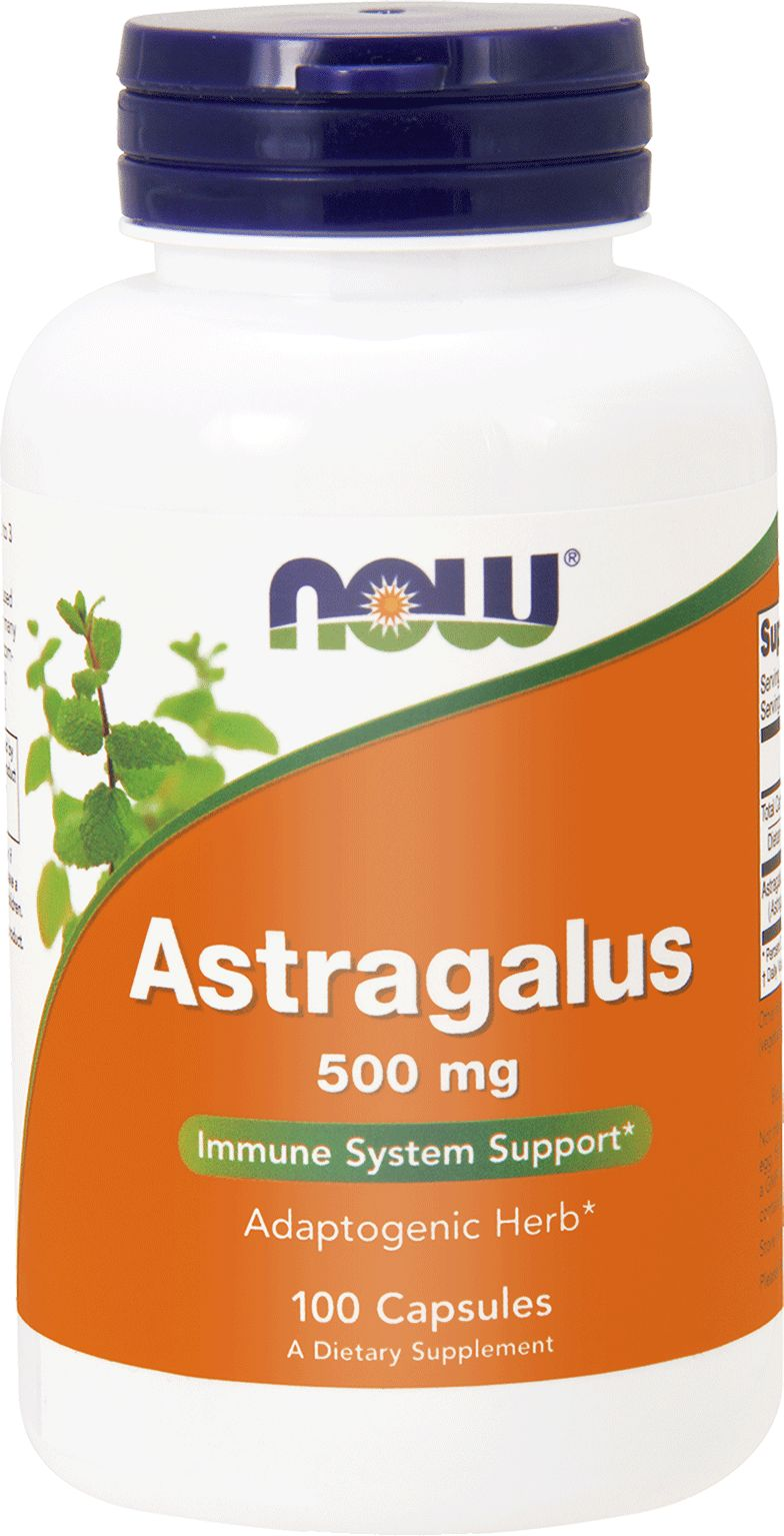 NOW Astragalus 500mg 100 caps.