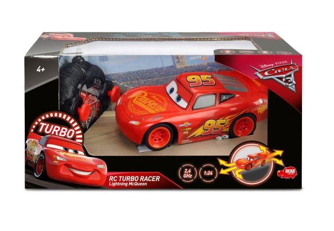 Cars 3 RC Zygzag McQueen 17 cm Radiovadāmā rotaļlieta