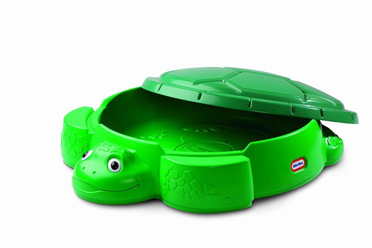 Little Tikes Turtle Sandbox green Rotaļu mājas un slidkalniņi