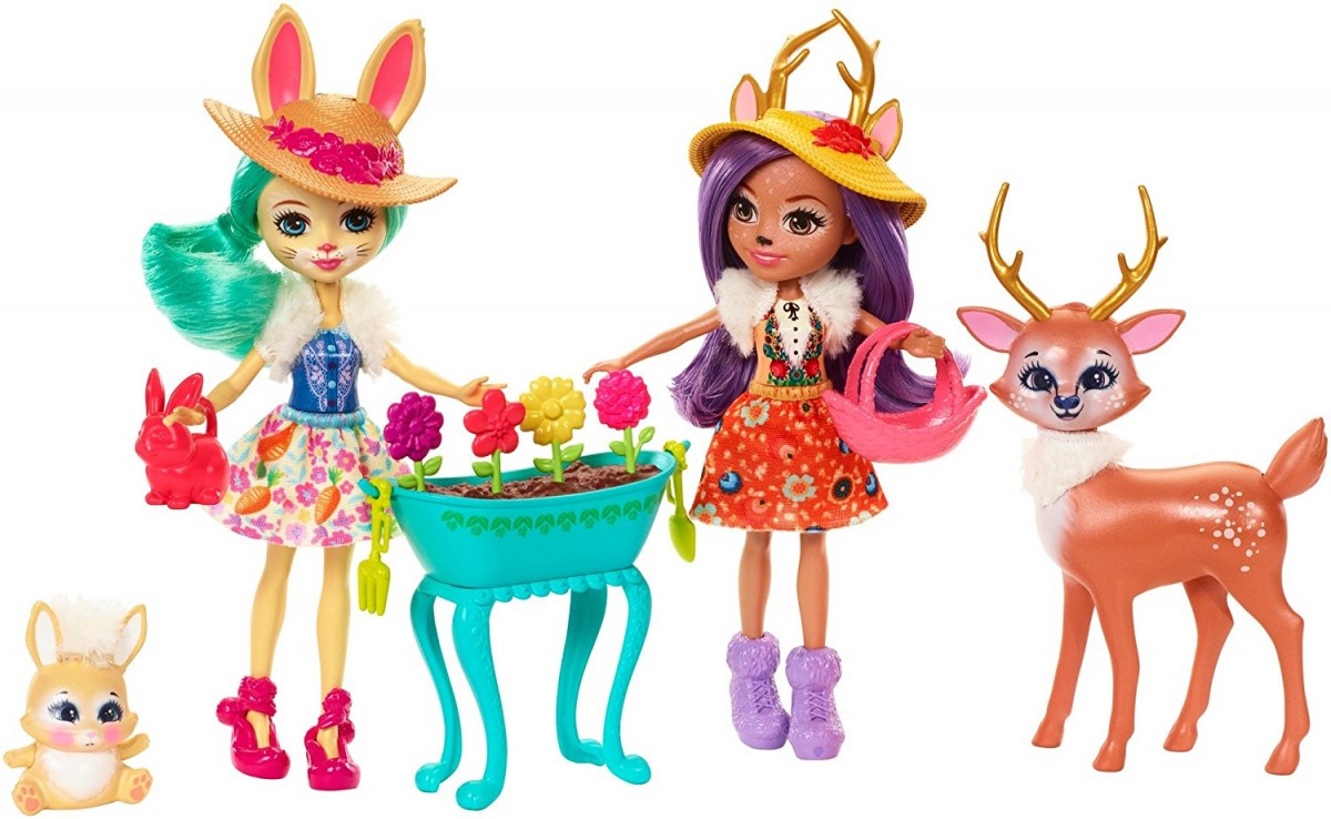 ENCHANTIMALS Multiply Dolls + Animals bērnu rotaļlieta