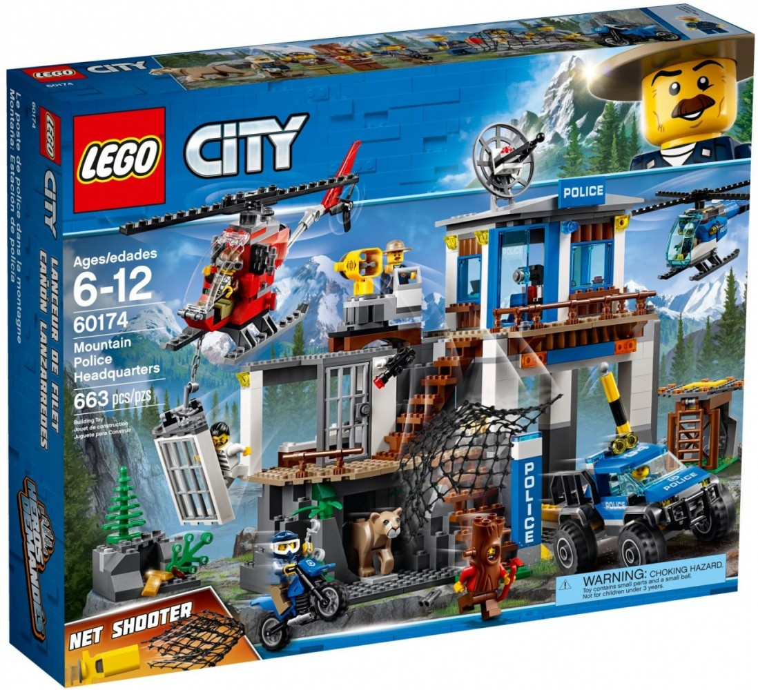 LEGO City 60174 Mountain Police Headquarters LEGO konstruktors