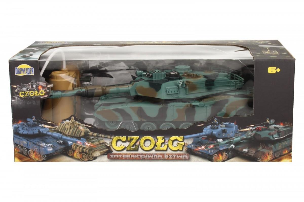 Czo³g M1A2 z pakietem Radiovadāmā rotaļlieta