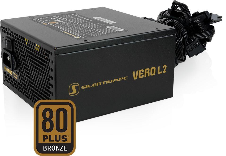 SilentiumPc Vero L2 600 W Barošanas bloks, PSU