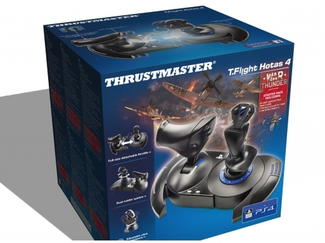 Joystick Thrustmaster T-Flight HOTAS 4 Official for PC/PS4 spēļu konsoles gampad