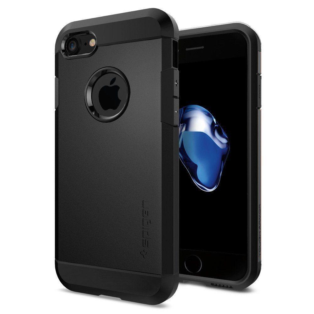 Spigen Tough Armor 2 Black case iPhone 7/8 maciņš, apvalks mobilajam telefonam