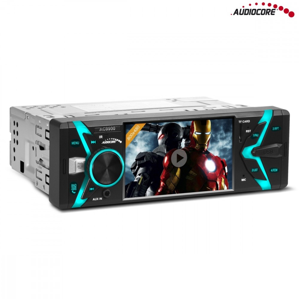 Audiocore AC9900 MP5 AVI    DivX Bluetooth handsfre automagnetola