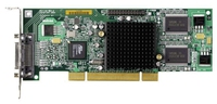 MATROX Millennium G550 32MB DDR, DualHead, DVI/Dual RGB, Low profile, PCI,retail video karte
