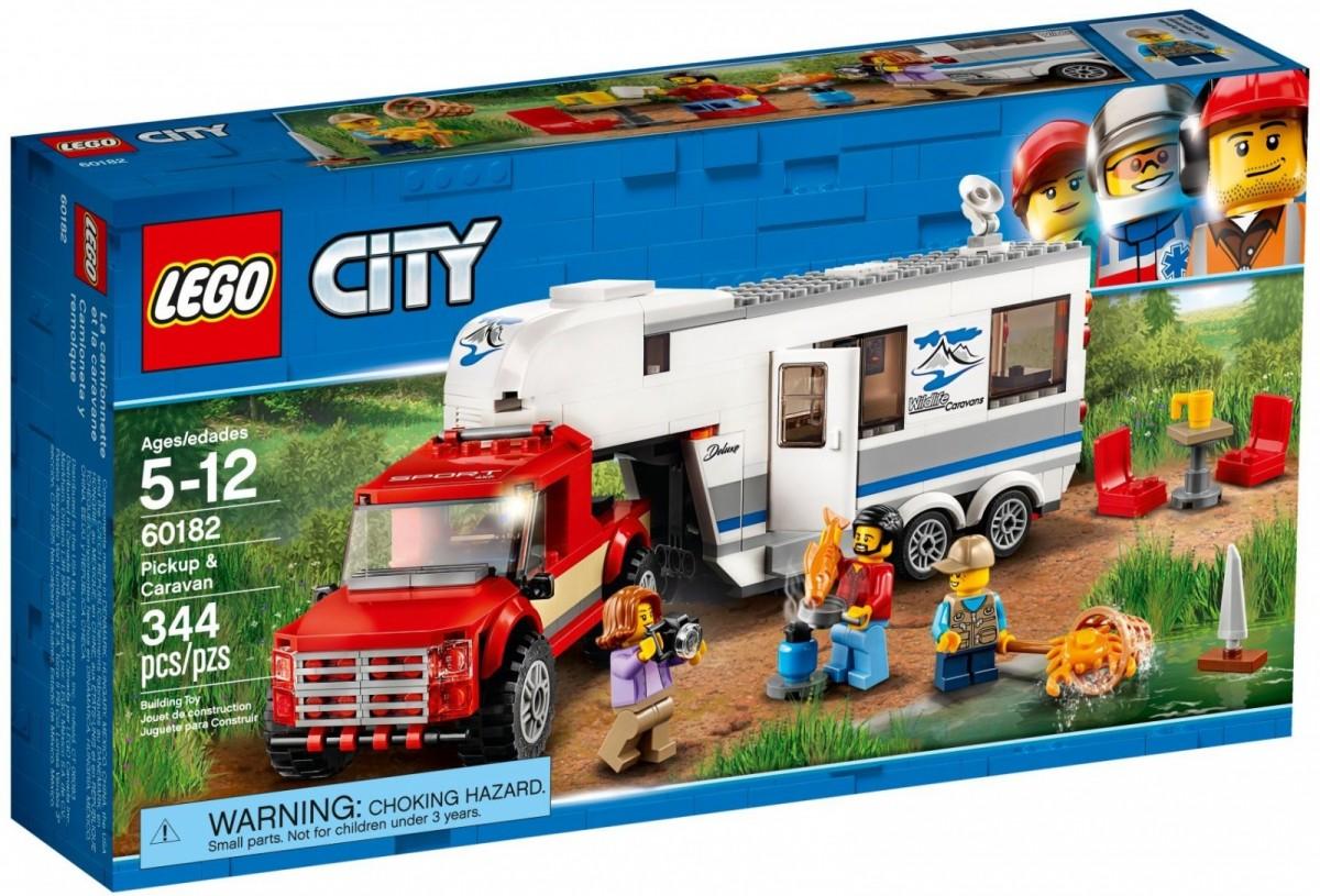 LEGO City 60182 Pickup & Caravan LEGO konstruktors