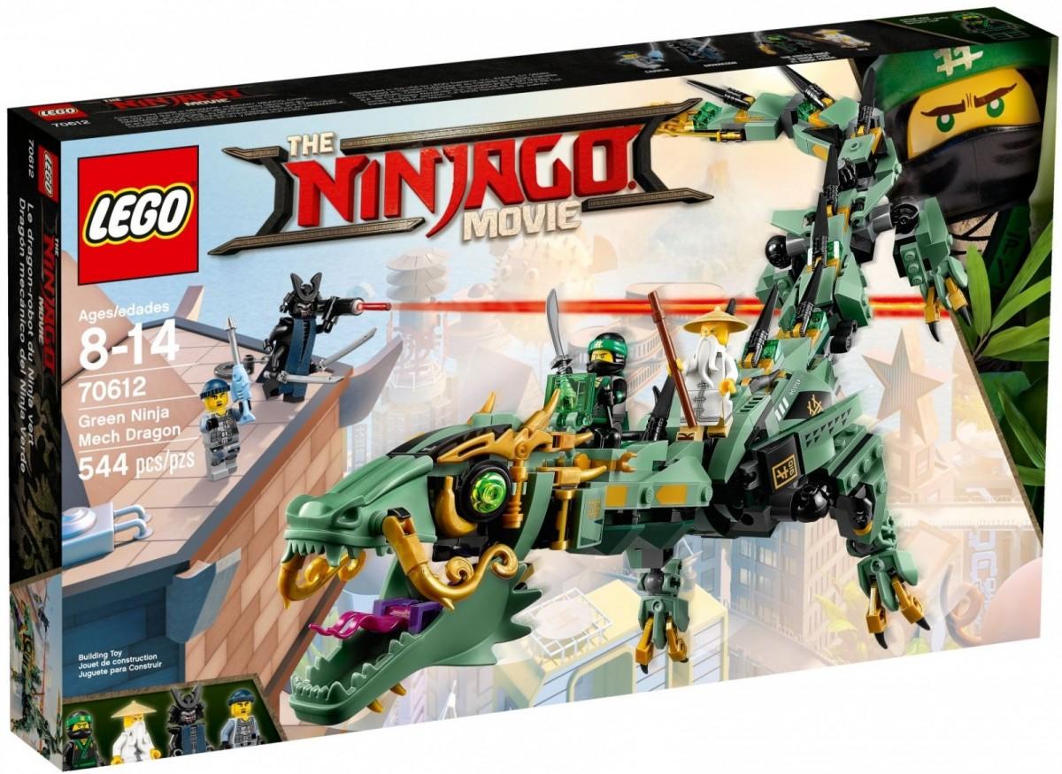 LEGO Ninjago 70612 Green Ninja Mech Dragon LEGO konstruktors
