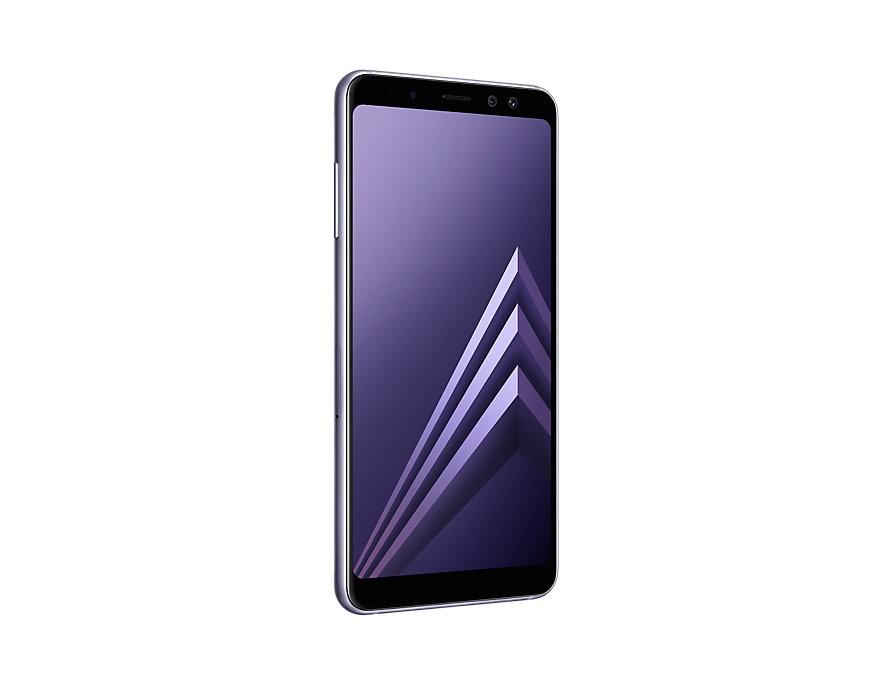 Samsung Galaxy A8 2018 Orchid Grey (A530F) Mobilais Telefons