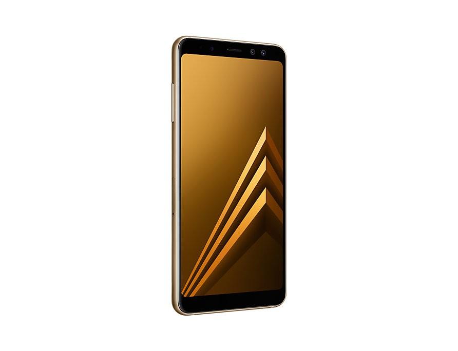Samsung Galaxy A8 2018 Gold (A530F) Mobilais Telefons