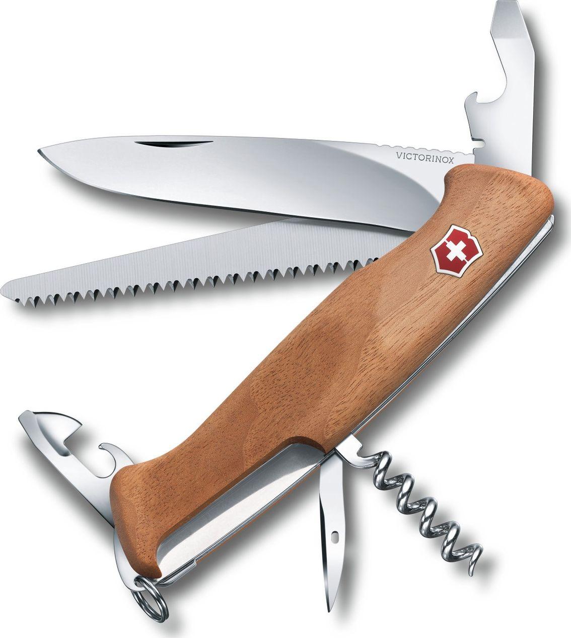 Victorinox RangerWood 55 130 mm orzech blister 0.9561.63B1 dārza nazis