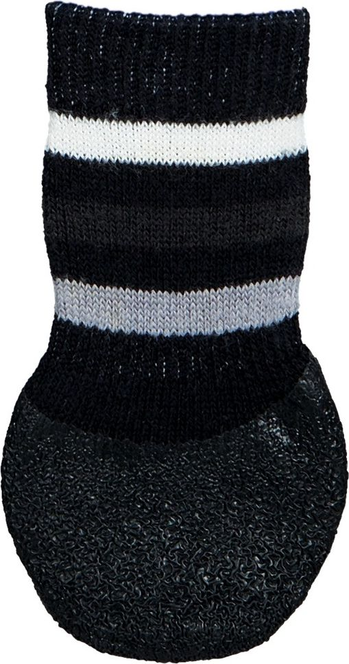 Trixie Dog socks non-slip M-L 2 pcs. Black