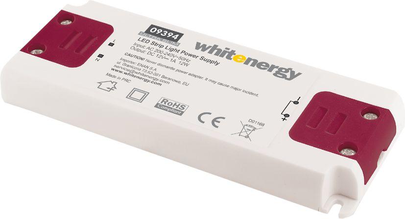 Whitenergy power supply for LED Ultra Slim 230V|12W|12V apgaismes ķermenis
