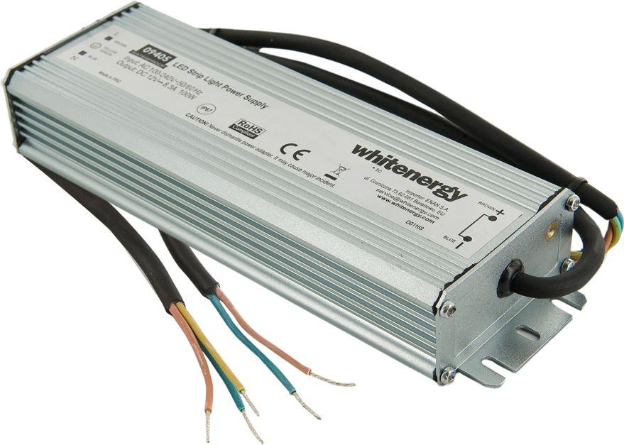 Whitenergy power supply for LED IP67 230V|100W|12V apgaismes ķermenis