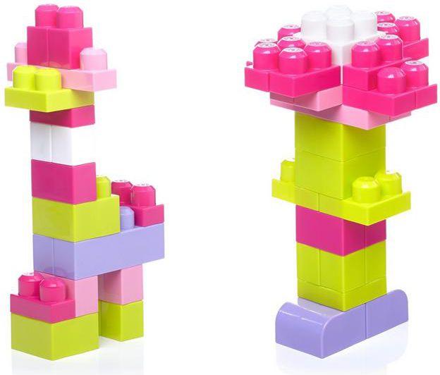 MBL klucīši 60 elementC w Bag First Builders Ast. bērnu rotaļlieta