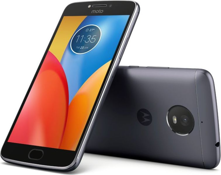 Motorola Moto E4+ DualS SIM Iron Grey 3/16 GB Mobilais Telefons
