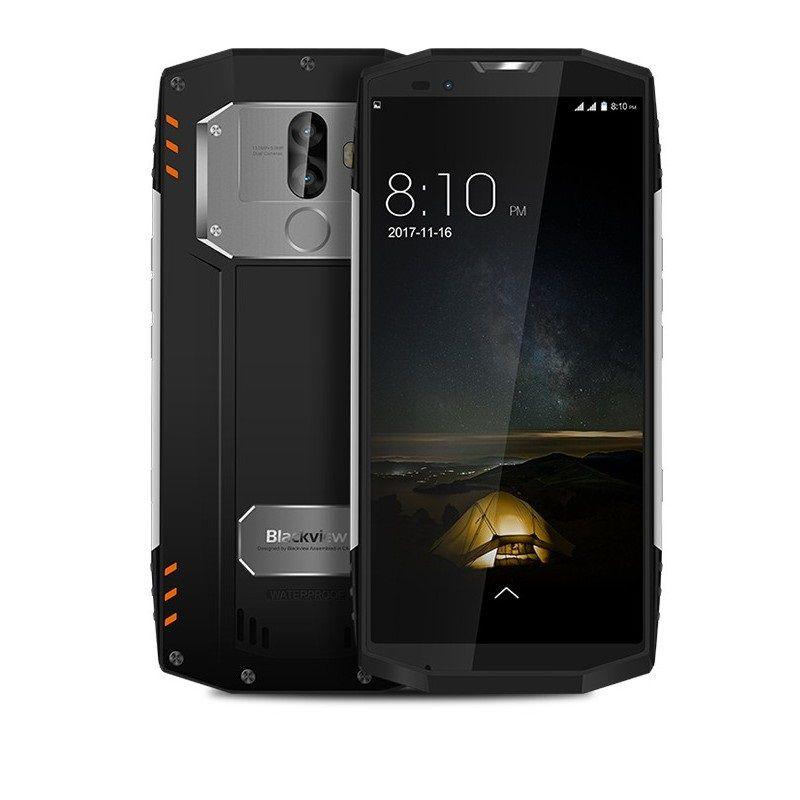 Blackview BV9000 Pro 6/128GB  Ice Silver (Ekspozīcijas) Mobilais Telefons