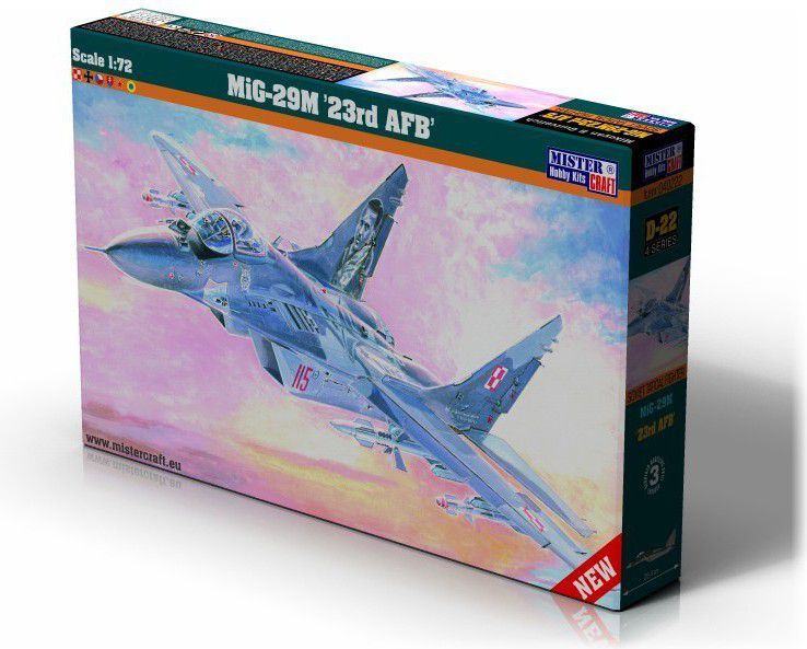 MiG-29M 23rd AFB bērnu rotaļlieta