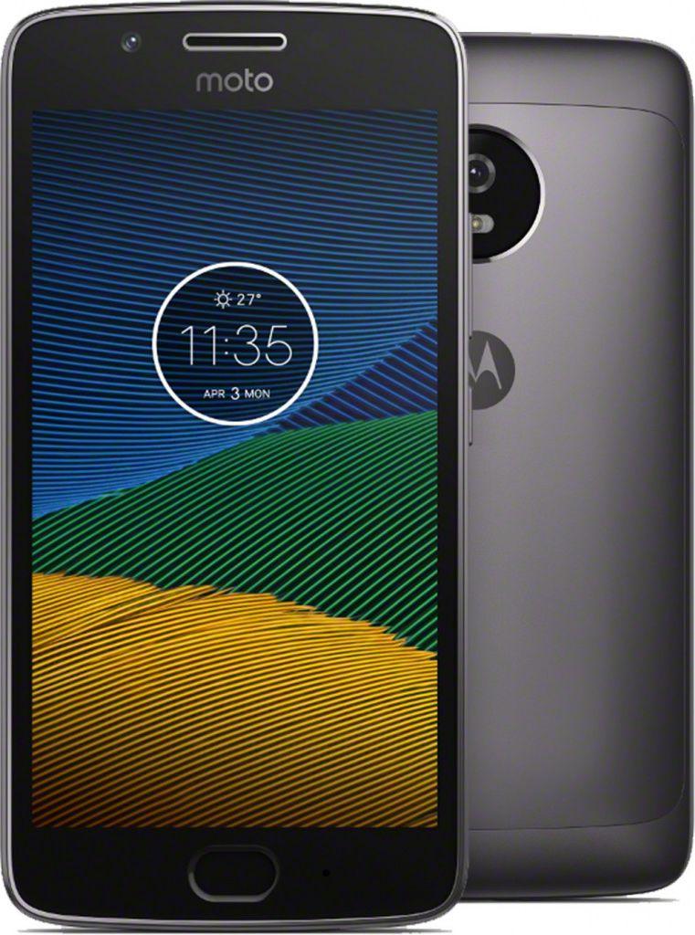 Motorola Moto G5 Gen    DS. Lunar Gray 3/16GB Mobilais Telefons