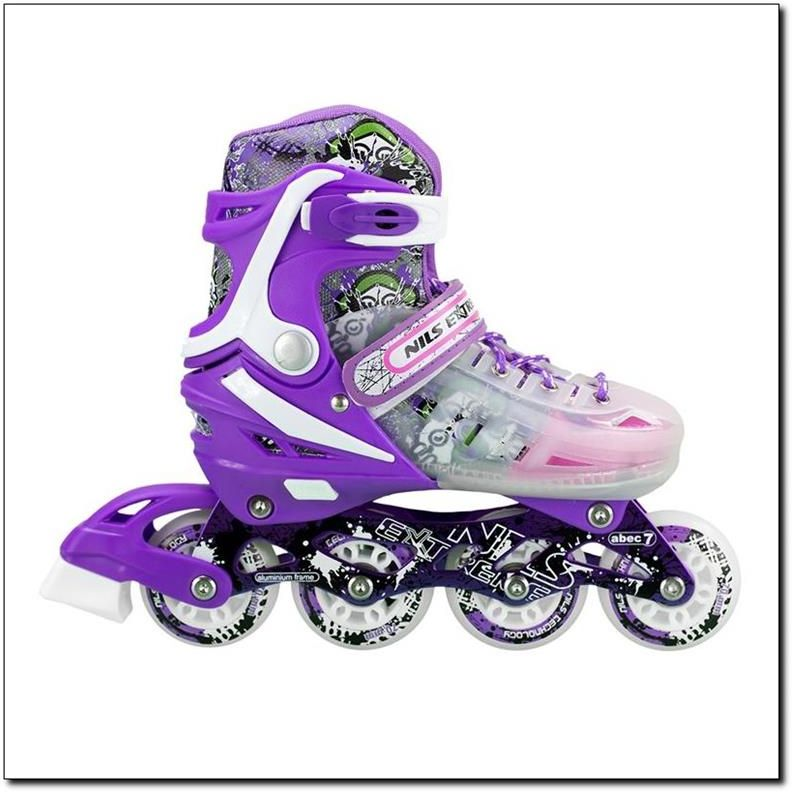 NILS Extreme Rollerblades NJ1812 A purple r. 39-43 Skrituļslidas