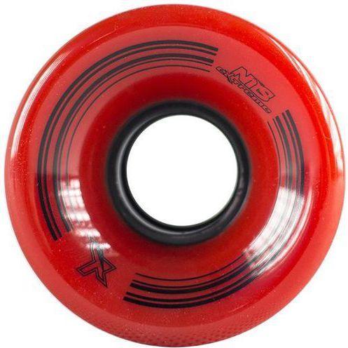 NILS Extreme KBM-5432 Rubber Red Rubber Circles (16-2-305) Skrituļslidas