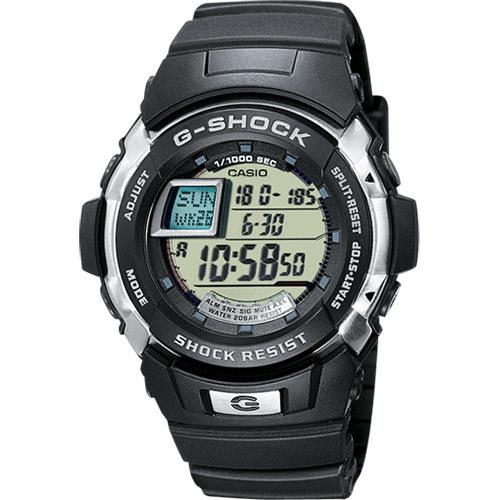 Casio Watch with G-Shock Resin Strap 51mm Men's G-7700-1ER Viedais pulkstenis, smartwatch