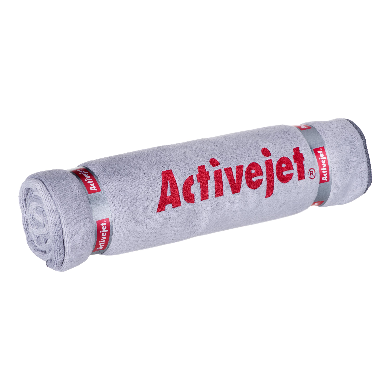 Towel Activejet (140x70 cm; gray color) TEKACJREC0001