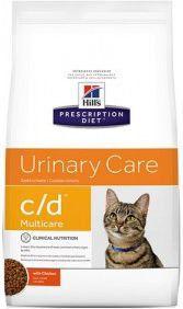 Hills Prescription Diet c / d Feline with Chicken 10kg kaķu barība