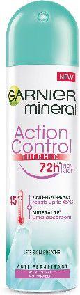 Garnier Mineral 72h Dezodorant w sprayu Action Control Thermic  150ml 0352315
