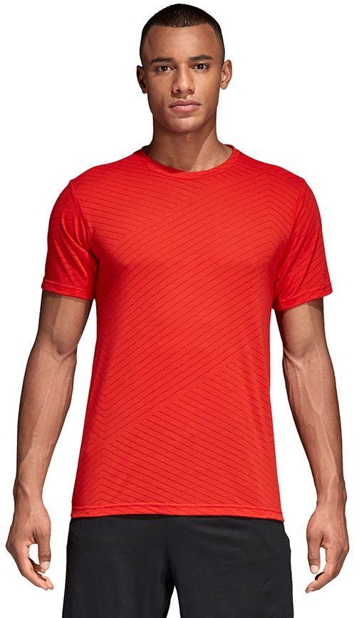Adidas Koszulka meska Freelift Aerokn czerwona r. S (CE0854) CE0854