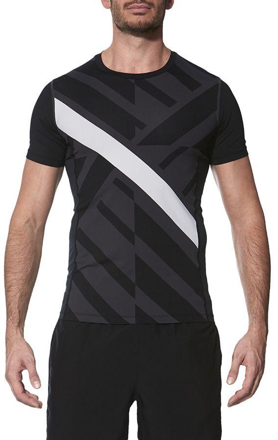 Asics Koszulka meska Focus Tight GPX czarna r. M (141808 0985) 141808 0985