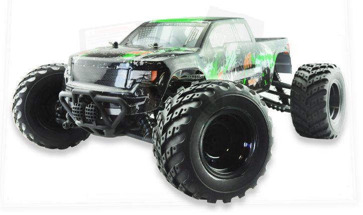 Amewi EVO 4M 4WD Monster Truck 1:12 Radiovadāmā rotaļlieta