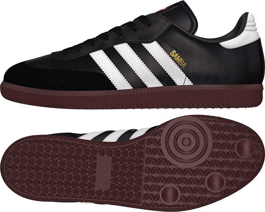Adidas Buty pilkarskie Samba IN czarne r. 44 (019000) 019000