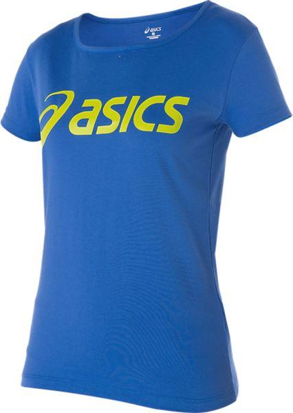 Asics Koszulka damska Logo Tee niebieska r. S (122863-8091) 122863-8091