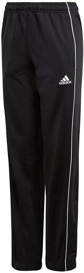 Adidas Spodnie juniorskie Core 18 PES PNTY czarny r. 128 (CE9049) CE9049