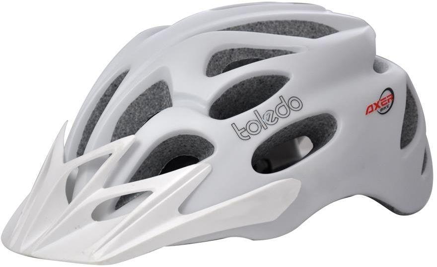Axer Bike BICYCLE HELMET TOLEDO WHITE  r. M  (A1951) A1951-M