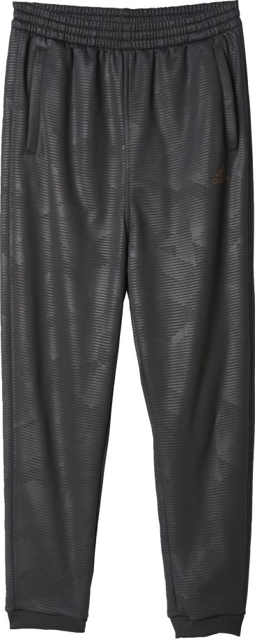 Adidas Spodnie District Knitted Pant czarny r. 128 cm (BQ1687) BQ1687