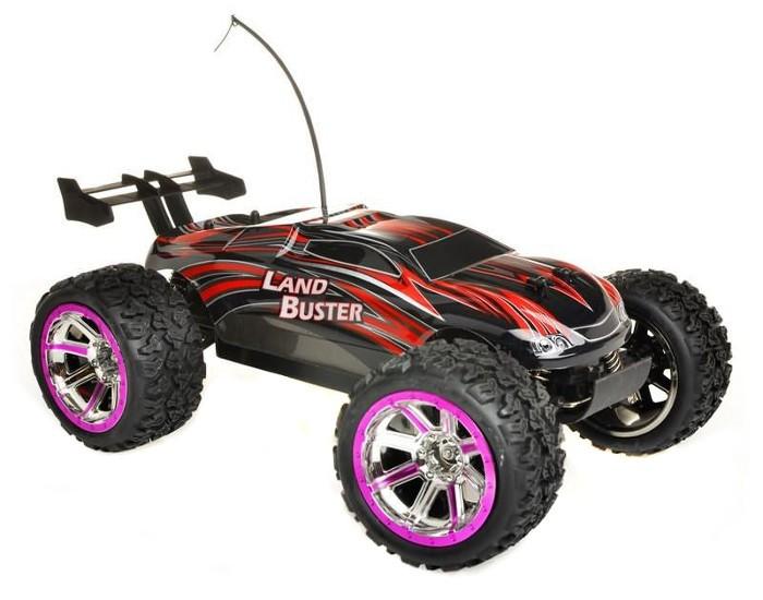 NQD Land Buster 1:12 Monster Truck RTR 27/40MHz - Red Radiovadāmā rotaļlieta