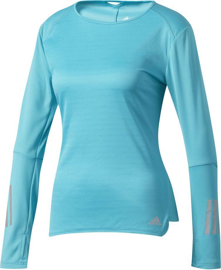 Adidas Koszulka Resonse Long Sleeve Tee W niebieska r. L BP7435