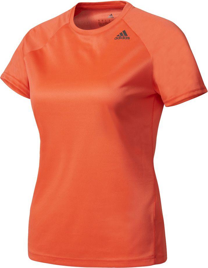 Adidas Koszulka damska D2M Tee Lose pomaranczowa r. XS (BK2714) BK2714