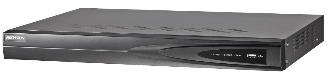 Recorder IP Hikvision DS-7604NI-K1/4P(B) drošības sistēma