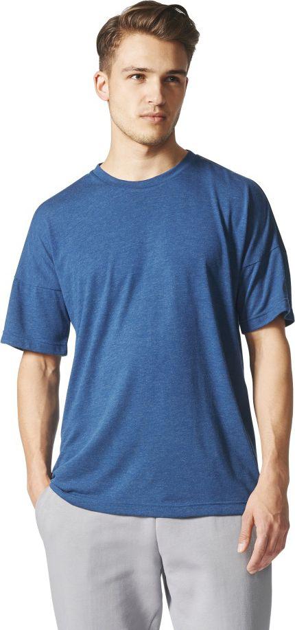 Adidas Koszulka meska ZNE Tee 2 Wool niebieska r. S (CE9555) CE9555