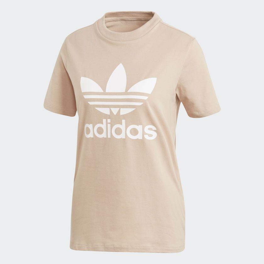 Adidas Koszulka damska Originals Treofil bezowa r. 36 (CV9894) CV9894