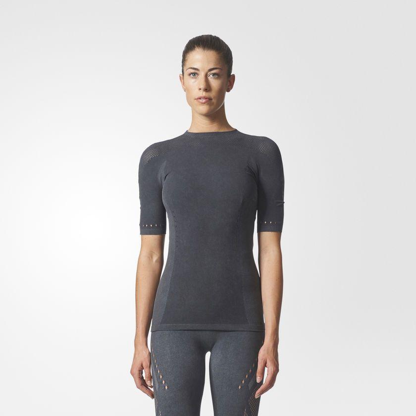 Adidas Koszulka damska WRPKNT TEE SLIM szara r. S  (CE7827) CE7827