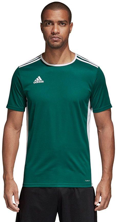 Adidas Koszulka meska Entrada 18 JSY zielona r. XL (CD8358) CD8358