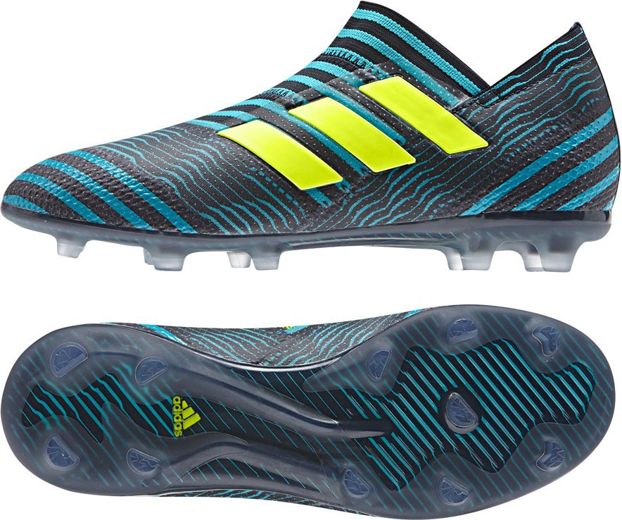 Adidas Buty pilkarskie Nemeziz 17+ 360 Agility JR czarno-niebieskie r. 36 2/3 (S82411) S82411